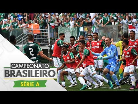 Campeão! Melhores Momentos - Gol de Palmeiras 1x0 Chapecoense - Campeonato Brasileiro (27/11/16)