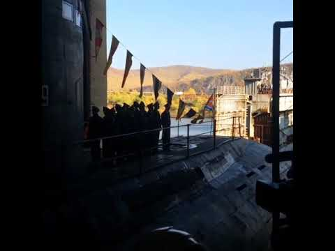 """Подводная лодка """"Комсомольск-на-Амуре"""". Вывод из цеха АСЗ. История."""