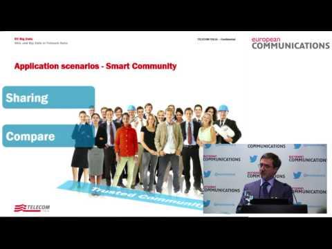 Big data seminar 2014: Telecom Italia on deriving new revenue streams