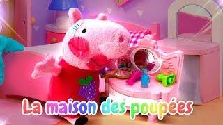 Vidéo pour enfants. Peppa Pig en français : soins des dents
