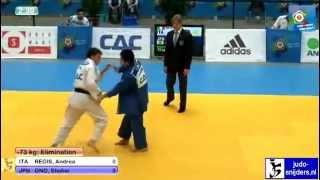 Judo: Andrea Regis (ITA) - Shohei Ono (JPN) [-73kg]