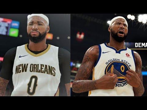 NBA 2K19 DeMarcus Cousins Screenshot and Rating!