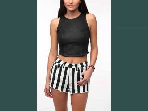 7fbe6d1aa7181 Leather Crop Top Women Dress Collection