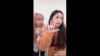 크레용팝 쌍둥이 지코-아무노래 챌린지 (웨이X초아)