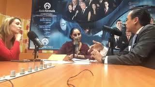 Ética publicitaría Entrevista Rodrigo Escartín con Gina Ibarra Radio Fórmula