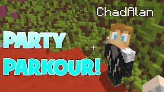 MINECRAFT | PARTY PARKOUR | GAMER CHAD | HAPPY HUNGER GAMES SERVER