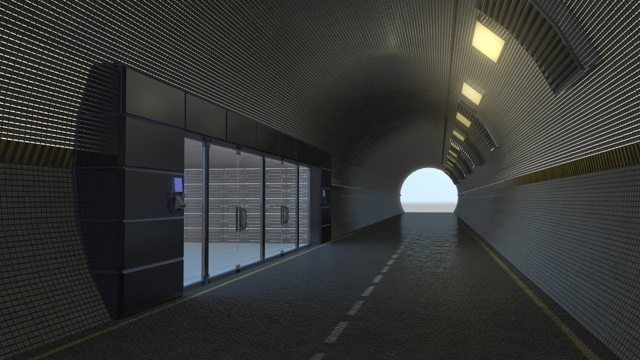 Maya Modeling Tutorial Tunnel Road Part 2 Youtube