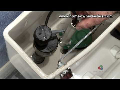 How to Fix a Toilet - Fill Valve Replacement