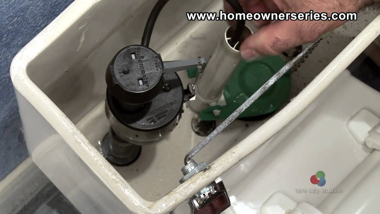 How To Fix A Toilet Fill Valve Replacement Youtube