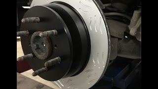 Chevy Tahoe GMC Yukon Brake Job With Performance Brake Pads and Rotors