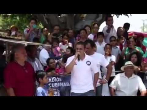 Cuahutemoc Blanco pide apoyo para el PRD