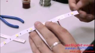 Пайка светодиодной ленты(, 2015-06-18T08:08:53.000Z)