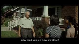 "Gran Torino (clip5 -part 1) - ""Get off my lawn!"""