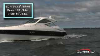 Cruisers Yachts 540 Sports Coupe Test 2012- By BoatTest.com