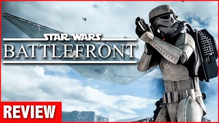 Star Wars Battlefront Review (Video Game Video Review)
