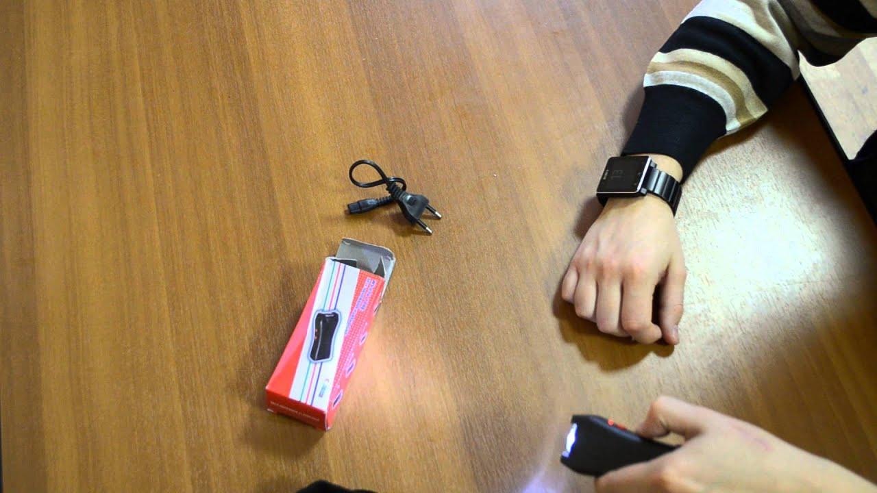Электрошокер-фонарь Оса-1203 Police (BL-1203) - YouTube