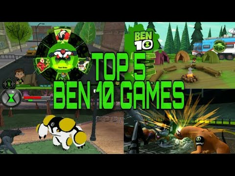 How To Download Now | Top 5 Offline Best Ben 10 Games | Free Apk In Android  |  In 2019 |