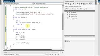 C# Metoder Demo 1