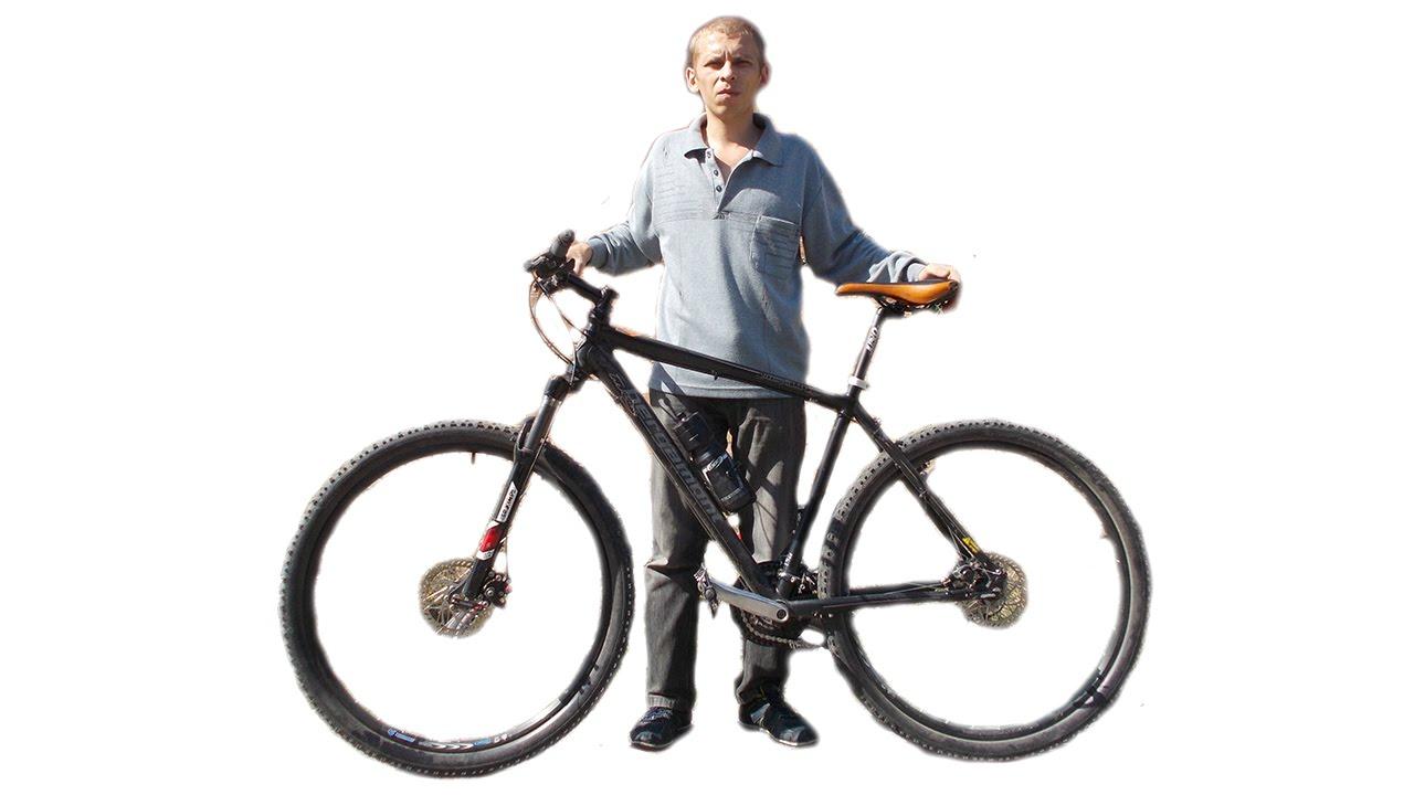 как заменить камеру и покрышку на велосипеде - YouTube