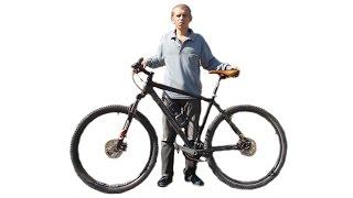 Как подобрать выбрать  размер  рамы велосипеда, узнать ростовку рамы.(Мой ВК https://vk.com/id263241899 Полезные видео с моего канала, о ремонте велосипеда. 1) Задняя втулка колеса обслуживан..., 2015-09-21T09:54:23.000Z)