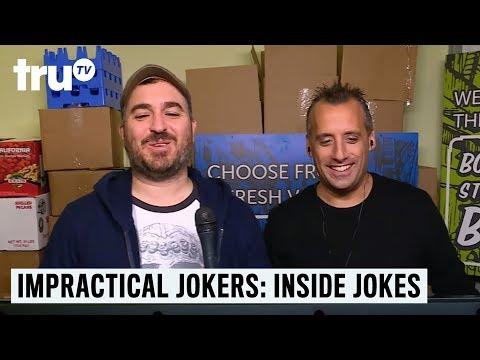 Impractical Jokers: Inside Jokes - Pin for the Win | truTV