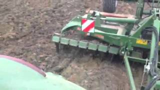 Amazone 4m Trailed Catros Cultivator Demonstration