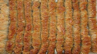Curvy Baklava Recipe Walnut Filled Twisted Flavor