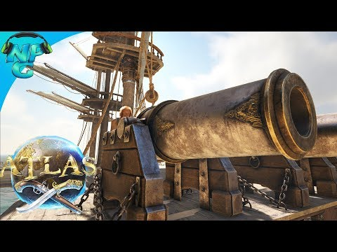ATLAS - Simple Base Destroyer Brig Design and the Science of Cannons VS Structures! E33
