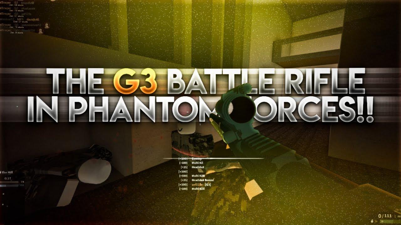 The G3 Battle Rifle On Phantom Forces Amazing - roblox phantom forces g3