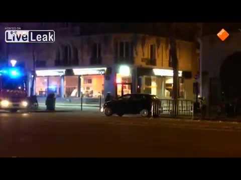 Paris terrorist shoot at police