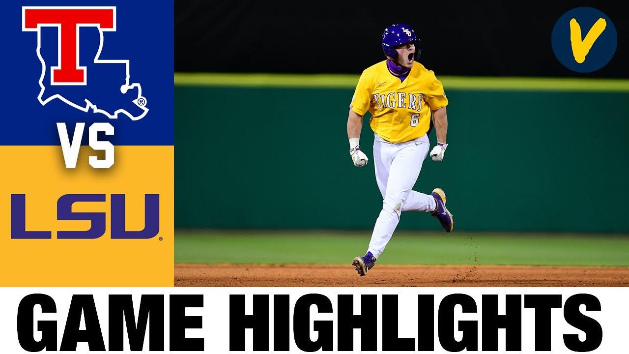 La Tech vs #12 LSU Highlights | 2.22.2020 | 2021 College Baseball Highlights