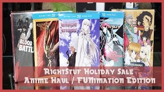 Rightstuf Holiday Sale Unboxing (Part.1) | FUNimation Haul Edition (2016)