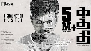 Cover images Kaththi - First Look Motion Poster | Vijay, Samantha | A.R. Murugadoss | Anirudh