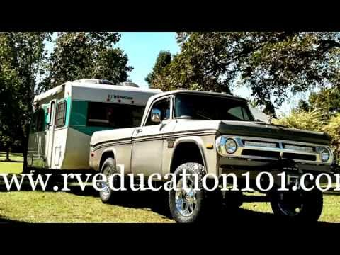 A Vintage Travel Trailer & Truck Restoration Project