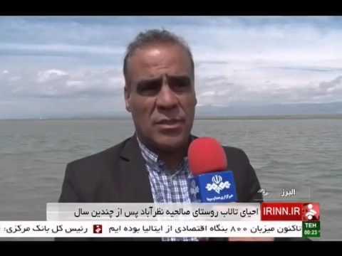 Iran Alborz province, Salehieh village wetland تالاب روستاي صالحيه استان البرز ايران