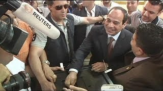 Egypt goes to the polls to elect a new president