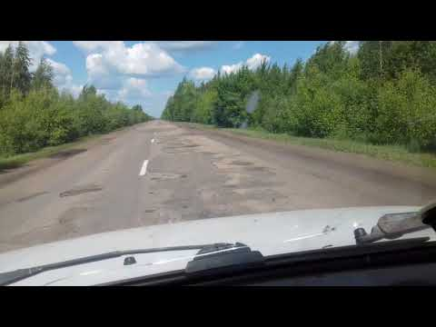 Нижегородская обл, дорога Сергач - Лукоянов!