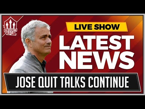 Jose MOURINHO Manchester United QUIT Talks Continue? MAN UTD News