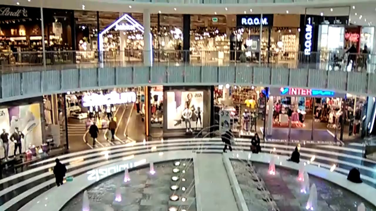 shopping mall sweden