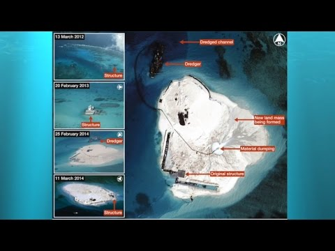 Castles made of sand Chinese land reclamation in the South China Sea