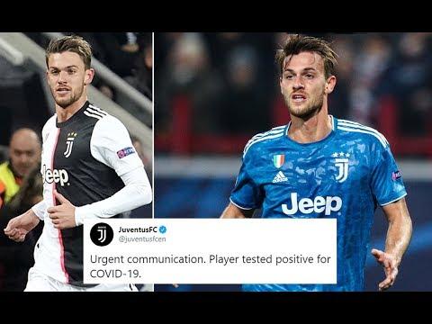 Juventus player Daniele Rugani tests positive for #Coronavirus