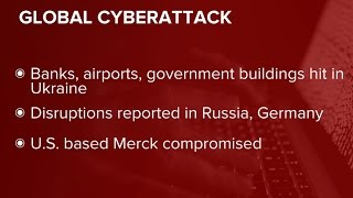 Cyberattack disruptions reported in Ukraine, Europe and the U.S.