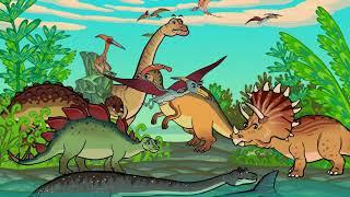 ТРИ КОТЕНКА - Придумаем динозавров - Котяткины истории - Теремок Песенки
