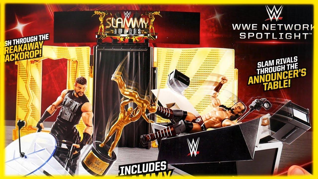 WWE WWENETWORK SPOTLIGHT SLAMMY AWARDS ANARCHY PLAYSET