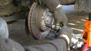Bremsbeläge vorne und Bremsscheibe Ersatz