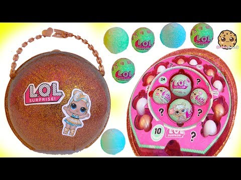 Thumbnail: LOL Surprise Giant Ball - Big & Lil Sisters Baby Dolls Surprise Blind Bags + Bath Fizz Charms Toys