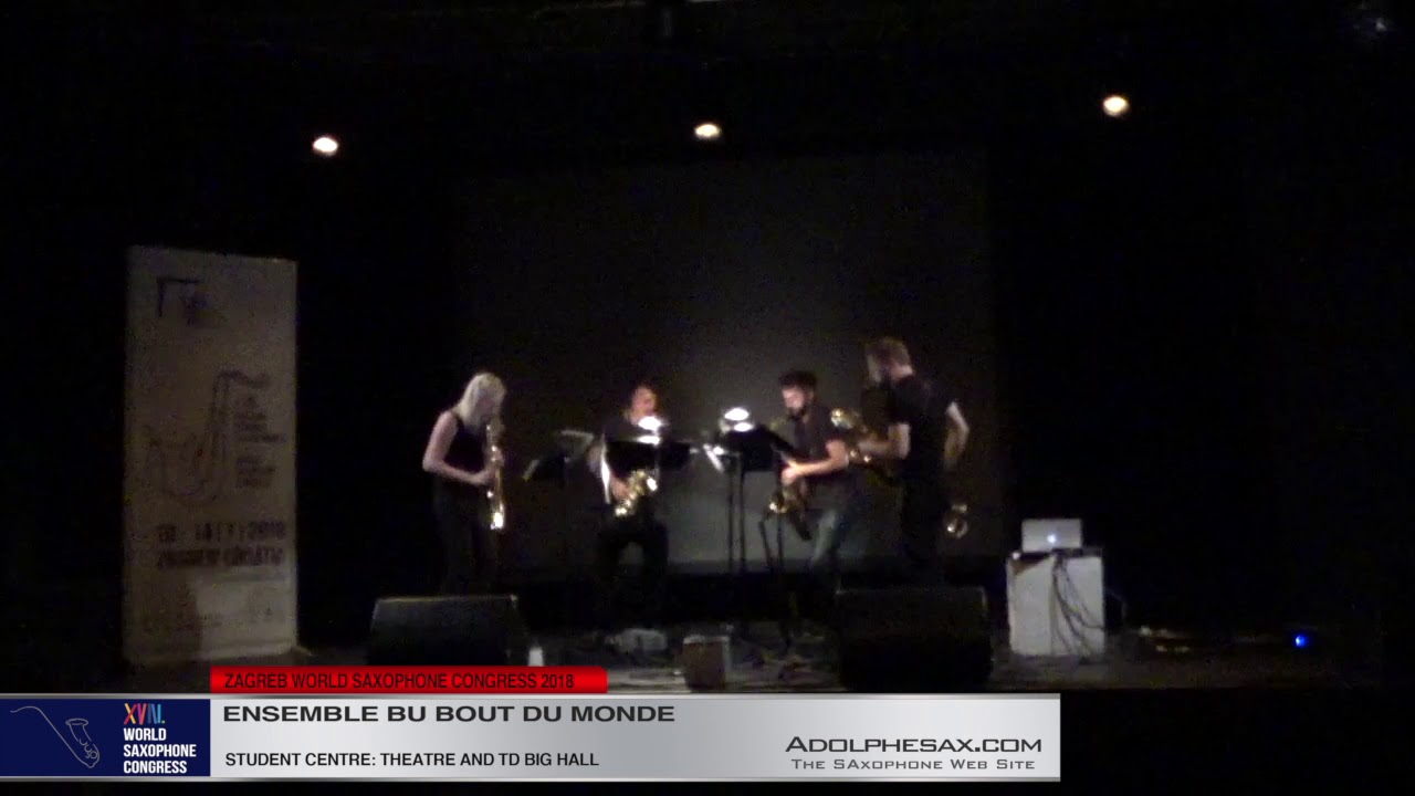 Black under White Brigtness by Daniel Cabanzo   Ensemble du Bout du Monde  XVIII World Sax Congress