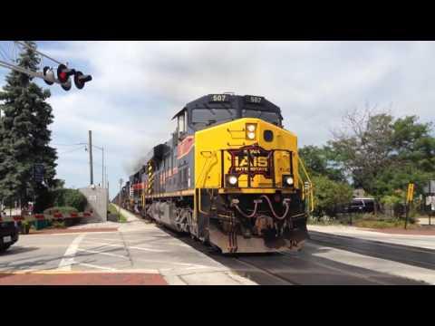 Iowa Interstate CBBI with NS and CRANDIC locomotives