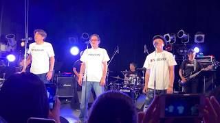 18年ぶりに結成された元野猿のボーカル3人組のサビ落としライブ 大阪2日目昼公演 #野猿#とんねるず#Bpressure.