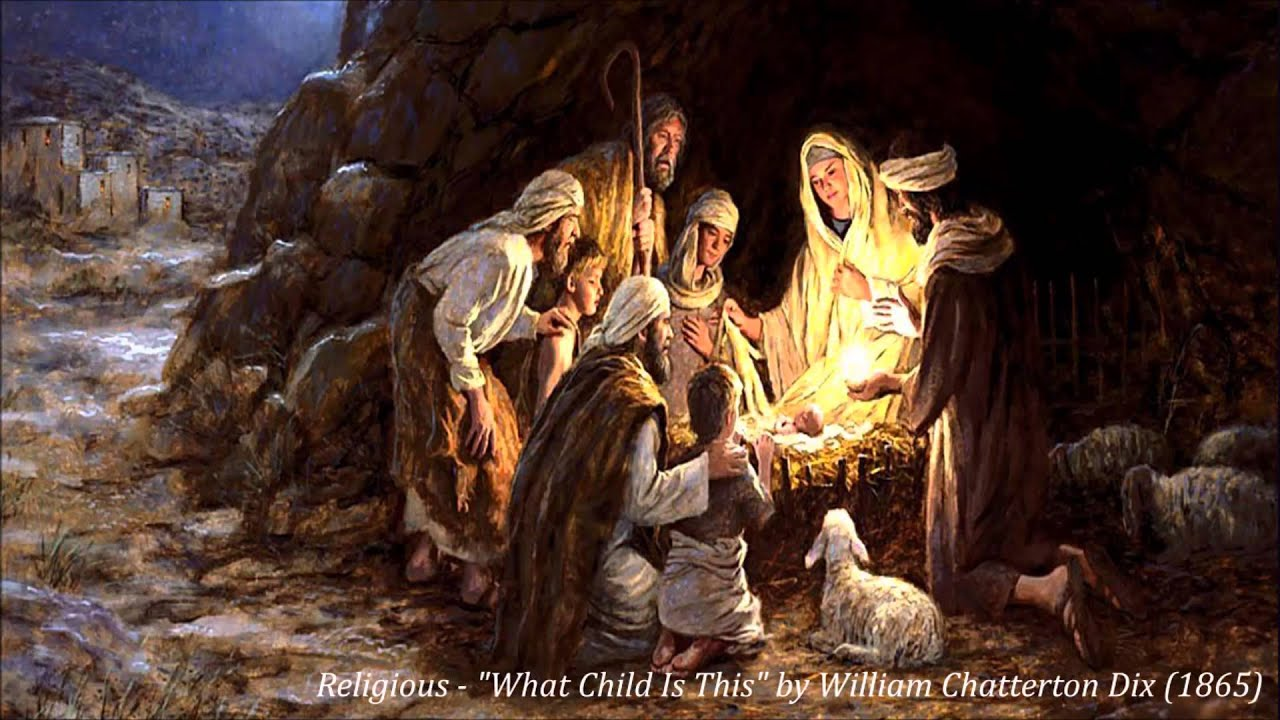 Religious What Child Is This By William Chatterton